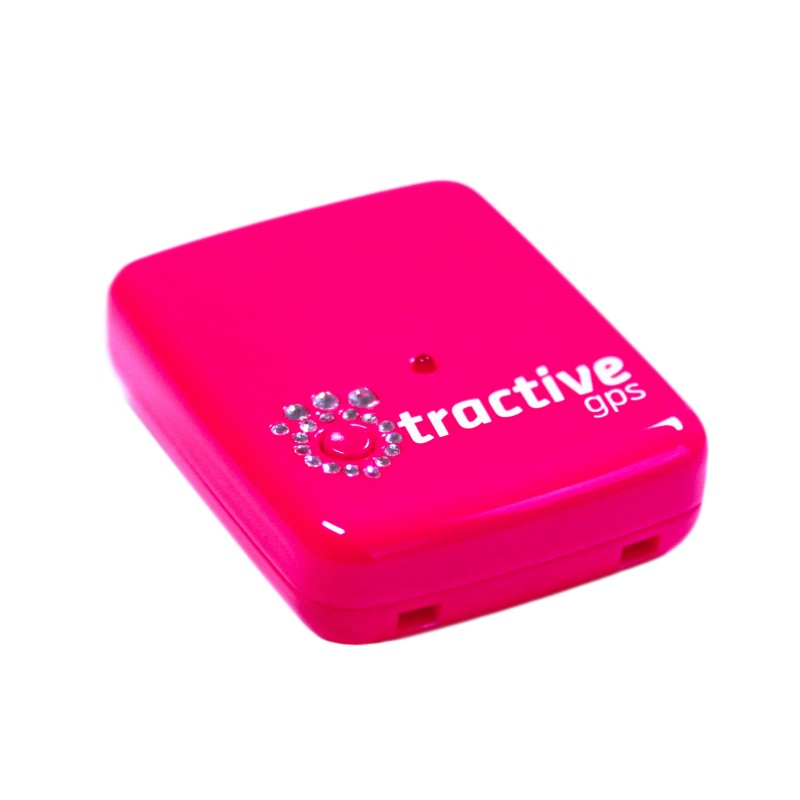 tractive gps pink